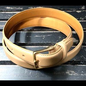 LAUREN RALPH LAUREN Genuine Italian Leather Belt